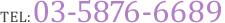TEL:03-5876-6689