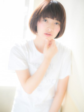 """*+AZUL+*…コンパクトなフォルムで狙う""""小顔見せ""""ボブa"""
