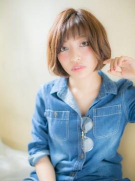*+CUORE+*…ショートバングとラフ☆ミディa