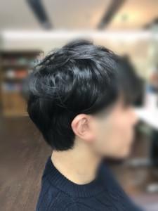 メンズのヘッドスパ