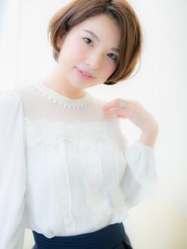 """デキる女の""""美形""""ショートボブb"""