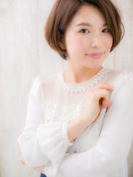 """デキる女の""""美形""""ショートボブa"""