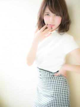 ミディアム☆フェミニンb