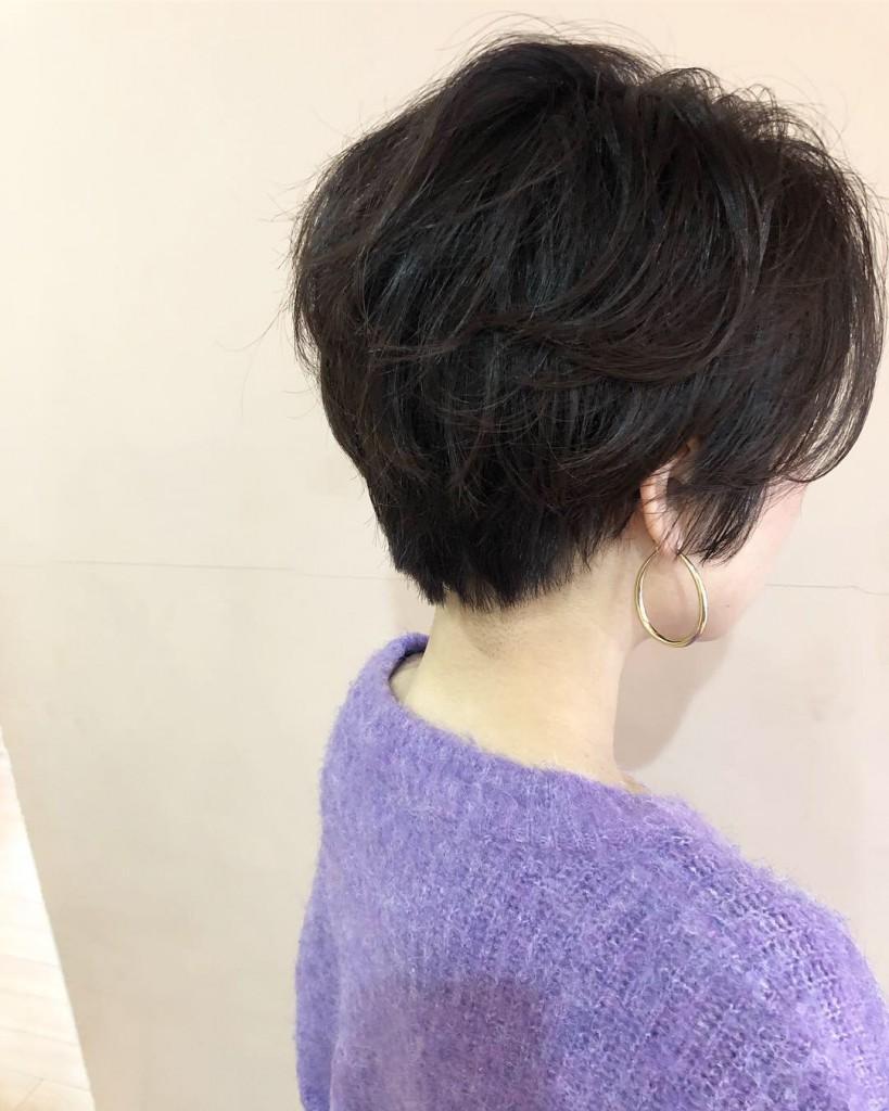 《綺麗なお姉さんショートヘア》